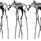 Dali 3x Elephant - Trunk to Tail by kobalos