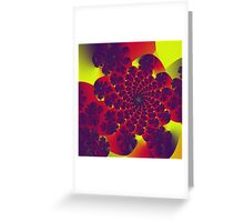 Floral Evolution 003.10.1.g4 Greeting Card