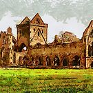 Sweetheart Abbey, Dumfries, Scotland - all products by Dennis Melling