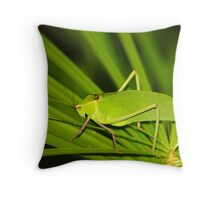 Grass Hopper  (Cuba) Throw Pillow