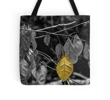 OneYellow Leaf Tote Bag