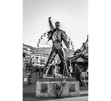 Freddie Mercury Statue  Photographic Print