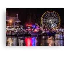Fremantle at Night Canvas Print