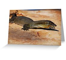 Merten's Water Monitor Greeting Card