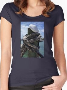 All Tied Up Women's Fitted Scoop T-Shirt