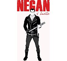 The Walking Dead - Negan & Lucille Photographic Print