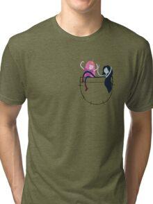 Bubbline Pocket Pals - Adventure Time Tri-blend T-Shirt