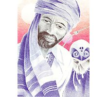 Bic Ball Point Pen Drawing: Pakhtoon Exploration of the Cosmos Photographic Print