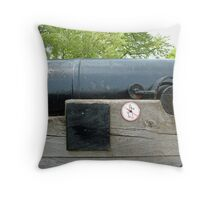 Greenwich Cannon Throw Pillow
