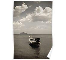 Awaiting Departure - Krabi, Thailand Poster