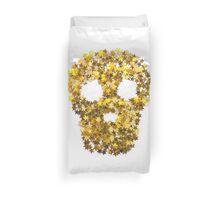 Gold Skull Duvet Cover