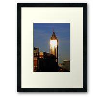 Atlanta sunshine Framed Print