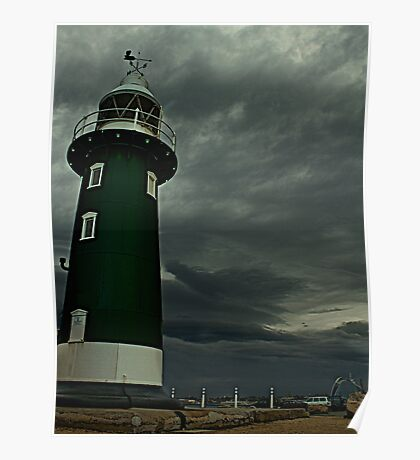 South Mole Lighthouse - Fremantle Poster