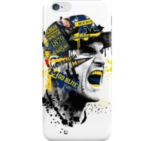 Jim Harbaugh Michigan  iPhone Case/Skin