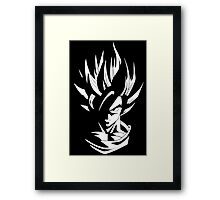 Kakarot Into Light Framed Print
