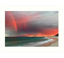 Cottesloe Beach Sunrise Art Print