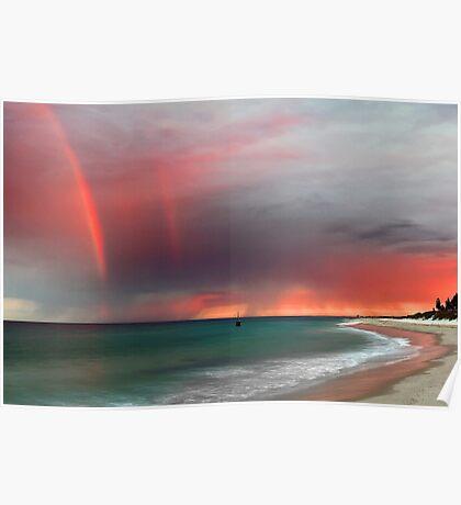 Cottesloe Beach Sunrise Poster