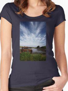 A Bit Rusty Women's Fitted Scoop T-Shirt