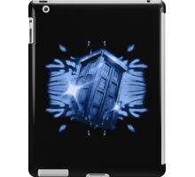 Tardis in the classic vortex iPad Case/Skin