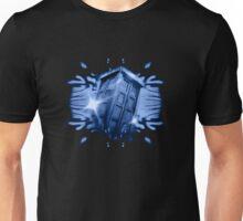 Tardis in the classic vortex Unisex T-Shirt