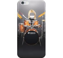 Corky's playing the Drums iPhone Case/Skin