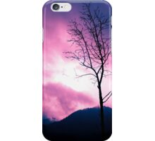 Into the Pink & Purple Sky - JUSTART © iPhone Case/Skin