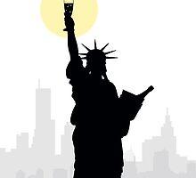 Drunk Liberty by HenryWine
