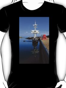 Tall Ship Alongside T-Shirt