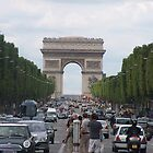 champs elysees by Carol  Lewsley