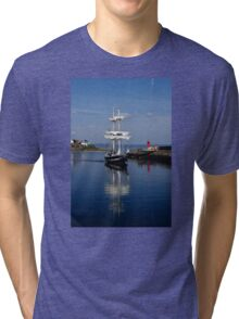 Tall Ship Captured Tri-blend T-Shirt