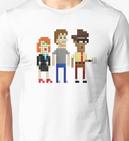 IT Crowd - Pixel Art Unisex T-Shirt