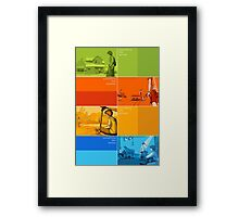 Something Like... series Seasons poster Framed Print