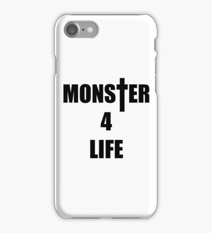 Monster 4 Life iPhone Case/Skin