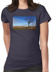 Rihanna Tree, Alone Womens Fitted T-Shirt
