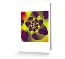 Floral Evolution 003.12.1.g4 Greeting Card