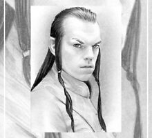 Hugo Weaving miniature by wu-wei