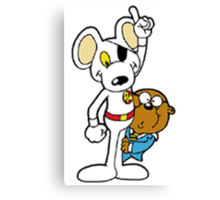 DangerMouse and Penfold Canvas Print