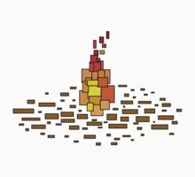 Blocky Experiment - Flame Kids Clothes