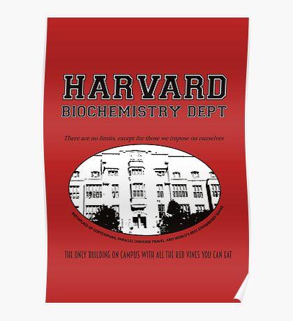 Fringe Harvard University BioChemistry Department Poster