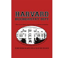Fringe Harvard University BioChemistry Department Photographic Print