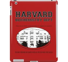 Fringe Harvard University BioChemistry Department iPad Case/Skin