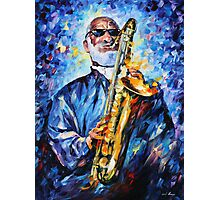 SONNY ROLLINS limited edition giclee of L.AFREMOV painting Photographic Print