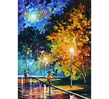 BLUE MOON limited edition giclee of L.AFREMOV painting Photographic Print