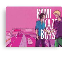 Kamikaze Boys Canvas Print