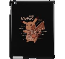 Pikachu Japanese anatomy graphic iPad Case/Skin