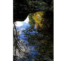 Autumn Upon Reflection Photographic Print