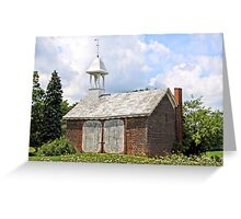 Werley's Corner Schoolhouse Greeting Card