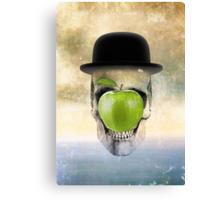 Magritte Skull Canvas Print