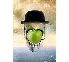 Magritte Skull Photographic Print