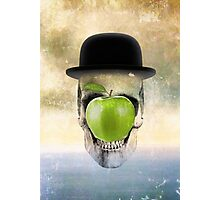 Magritte Skull Photographic Print